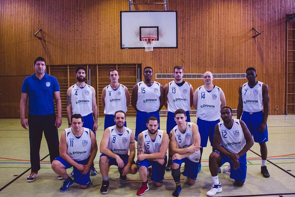 Erste Herrenmannschaft TGL TITANS Basketball Landsweiler-Reden – Landesliga – 2016/2017
