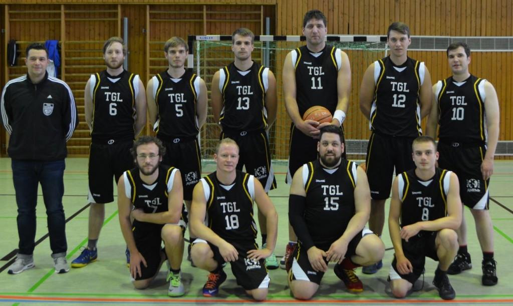 Zweite Herrenmannschaft TGL TITANS Basketball Landsweiler-Reden - Bezirksliga 2015/2016