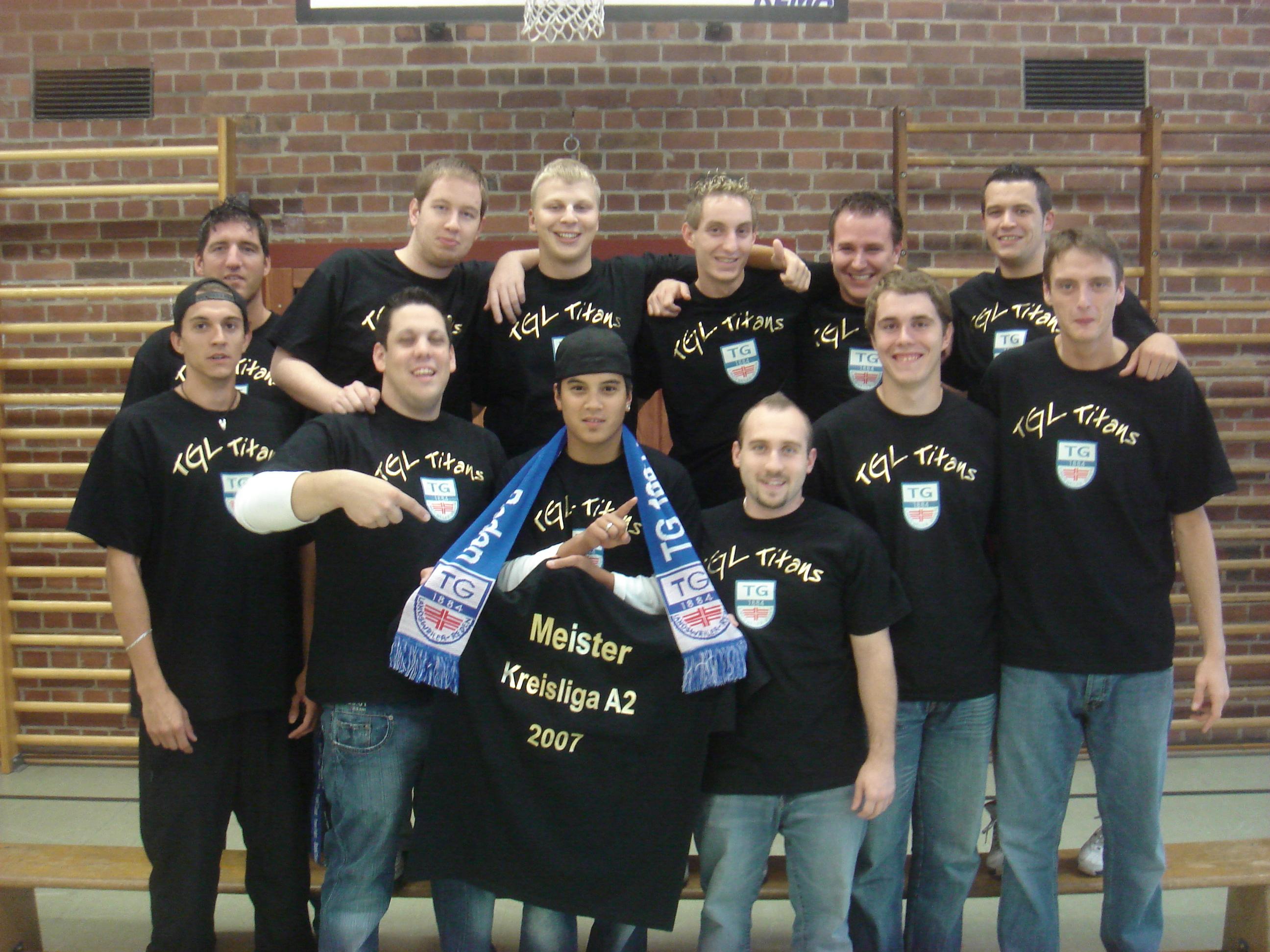 2007: TGL TITANS Meister Kreisliga
