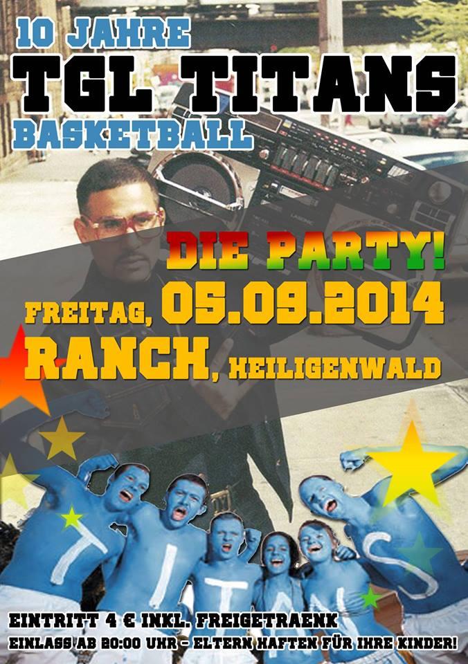 10 Jahre TGL TITANS - Die Party!
