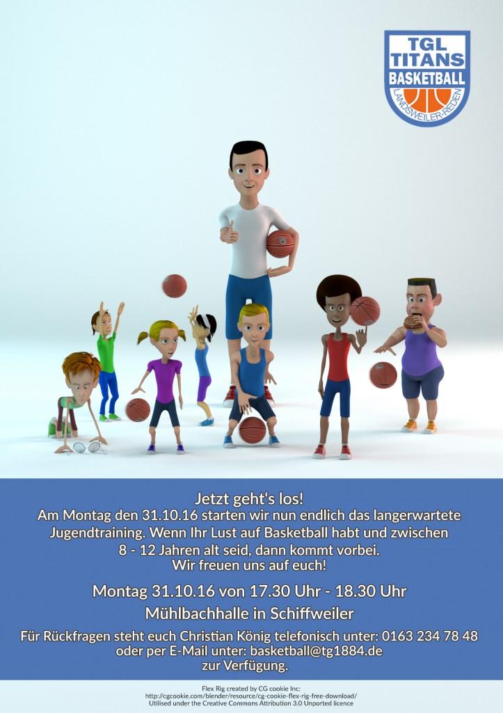 Jugend- und Kinder Basketball Landsweiler-Reden